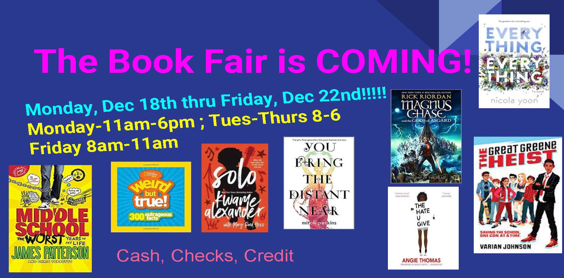 Chenery Book Fair