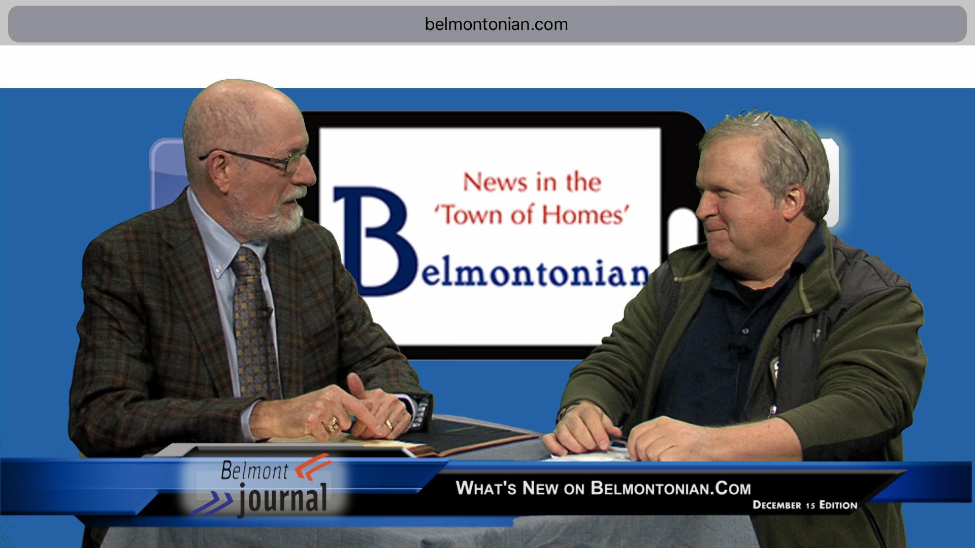 Belmont Journal Dec. 15th Show
